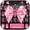 Luxury Pink Bow Keyboard Theme