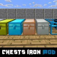 Chests Iron Mod for MCPE icon