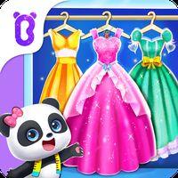 Ikon Game Berbusana Bayi Panda