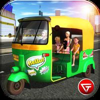 City Tuk Tuk Driver Simulator 2018 icon