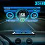 HUD Speedometer Digital: GPS, Speed Limit Widget