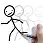 Stickman: desenhar animação