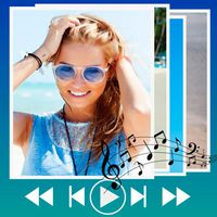 Icono de Haz un video de fotos con música