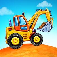 Ikon Game truk untuk anak-anak - bangunan rumah