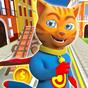 Super Hero Cat Run