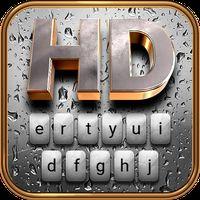 Rain HD Animated Keyboard + Live Wallpaper Simgesi