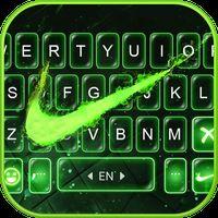 Ícone do Tema Keyboard Green Neon Check
