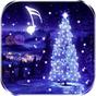 Fundo animado de árvore de Natal