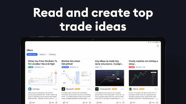 TradingView APK - Free download app for Android