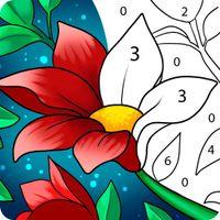 Ícone do Livro de Pintura com Números - App Grátis