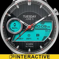Ícone do X-Gen Watch Face & Clock Widget
