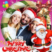 Ícone do feliz Natal Molduras de foto