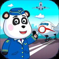 Flughafen Kinder Spiel: Berufe Icon
