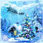 Snowfall Christmas live wallpaper