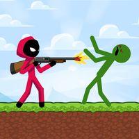 Stickman Zombie Shooter: Fight Platformer icon
