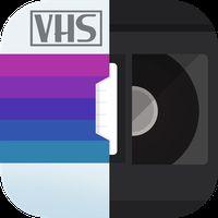 Ícone do RAD VHS- Glitch Camcorder VHS Vintage Photo Editor