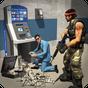Assalto a banco Dinheiro Caminhão de segurança 3D