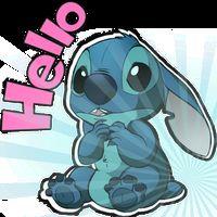 Icône de Cute Blue Koala Stitch Stickers for WhatsApp