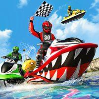 Ikon Air Jet Ski perahu balap 3D