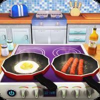 Εικονίδιο του Virtual Chef Breakfast Maker 3D: Food Cooking Game apk