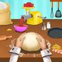 O frenesi da cozinha da mamãe: restaurante comida