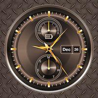 Analog Digital Clock on Screen Live Wallpaper 2019 APK icon