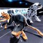 Cão policial caça criminal 3D