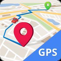 Icône de GPS, Maps, Navigate, Traffic & Area Calculating