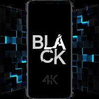 Icône de Black Wallpapers - 4K Dark & AMOLED Backgrounds