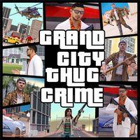 멋진 시티 자객 범죄 갱 단원 아이콘