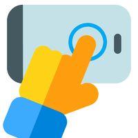 Icono de Auto Clicker - Grifo automático