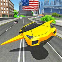 Real Flying Car Simulator Driver Simgesi