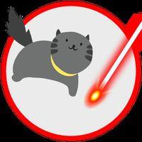 Иконка Лазер для кота симулятор. Игрушка котенка