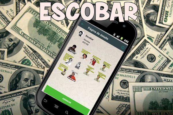 Image 5 of Stickers Escobar