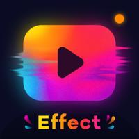 Glitch Video Efekti - Video Düzenleyici, Efektleri Simgesi