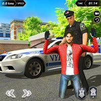 Ikona wyścigi samochodów policyjnych 2019 - Police Car