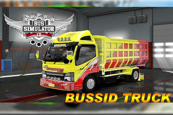 LIVERY BUSSID MOD TRUCK Indonesia screenshot apk 1