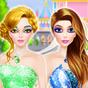 Glitter Makeup: Dressup & Makeup, Color by Number