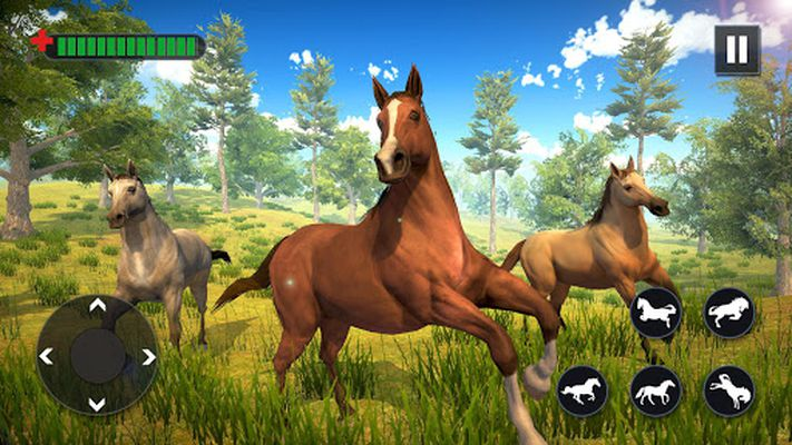 Image 5 of Wild Horse Family Simulator: Horse Games