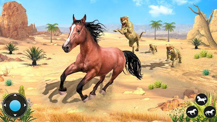 Image 4 of Wild Horse Family Simulator: Horse Games