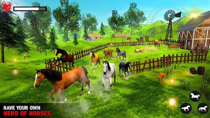 Image 1 of Wild Horse Family Simulator: Horse Games