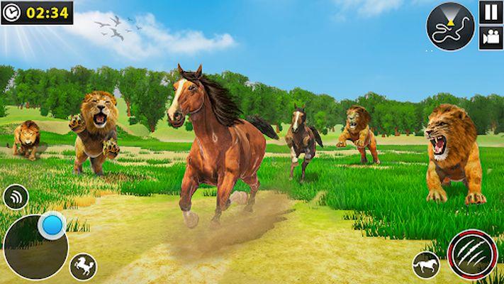 Wild Horse Family Simulator Video: Horse Games