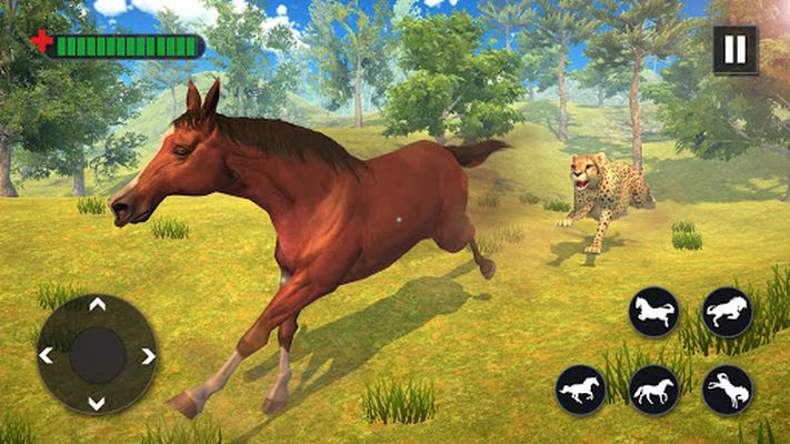 Screenshot 7 of Wild Horse Family Simulator: Horse Games