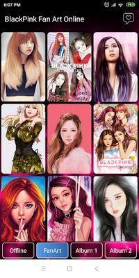 Image 4 of Black Pink Wallpaper - All Member