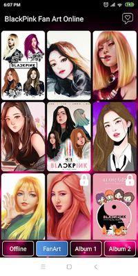 Image 3 of Black Pink Wallpaper - All Member