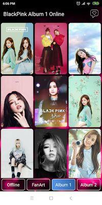 Image 2 of Black Pink Wallpaper - All Member