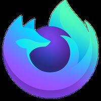 Иконка Firefox Fenix