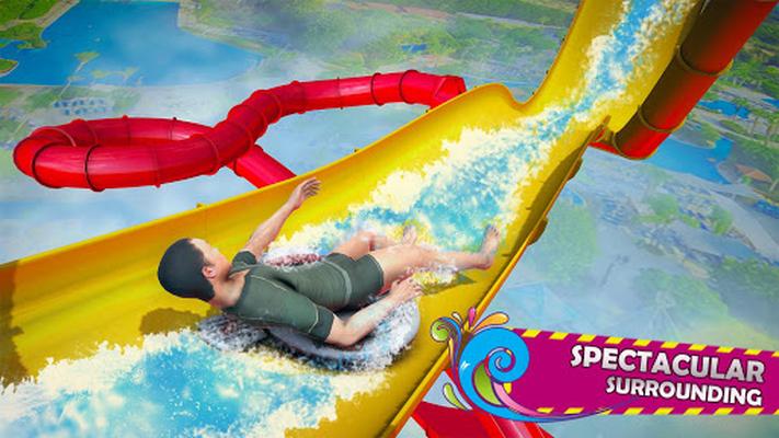 Image 11 of Stuntman Water Surfing Slide Adventure: Park