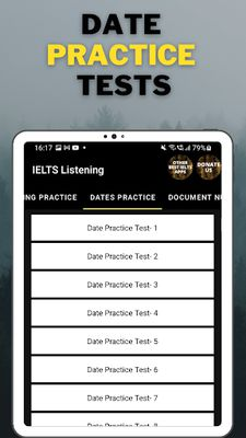 Image 11 of IELTS Listening