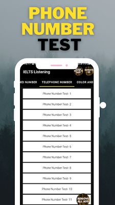 Image 6 of IELTS Listening